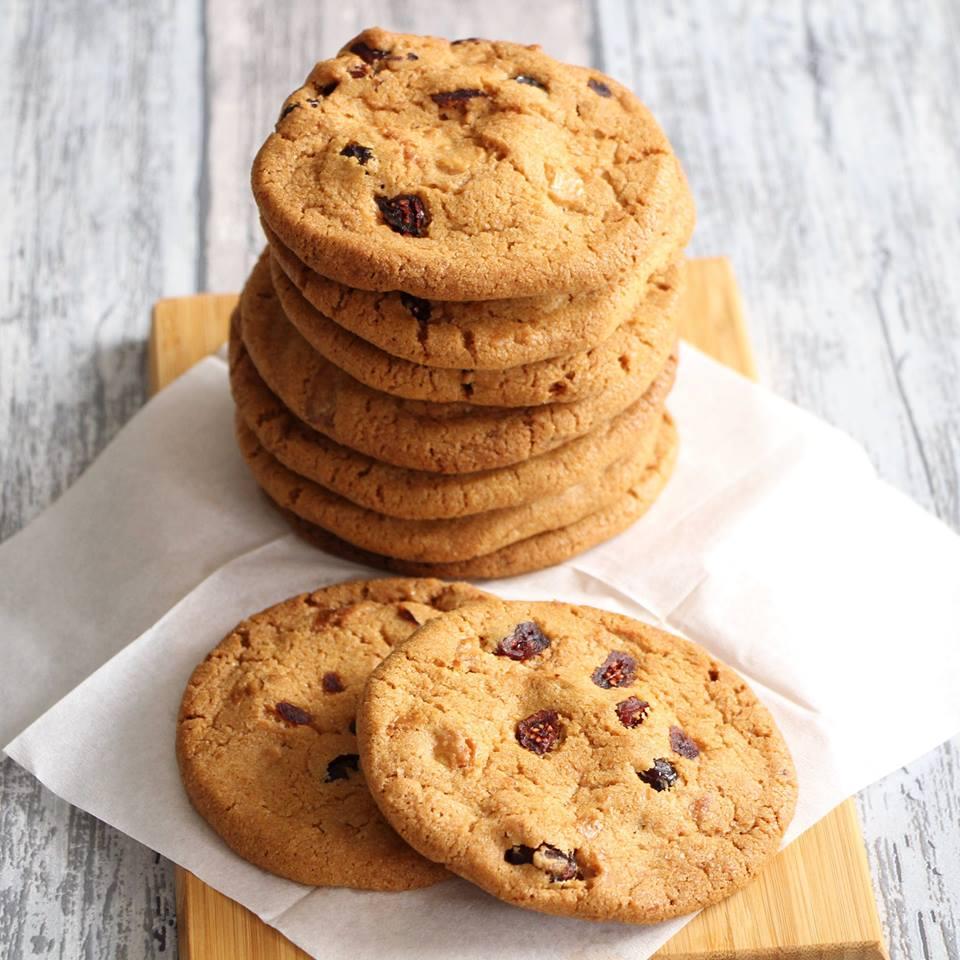 Chocolate chip cookies met witte chocolade en cranberries mari lle in de keuken - Chocolade en witte badkamer ...