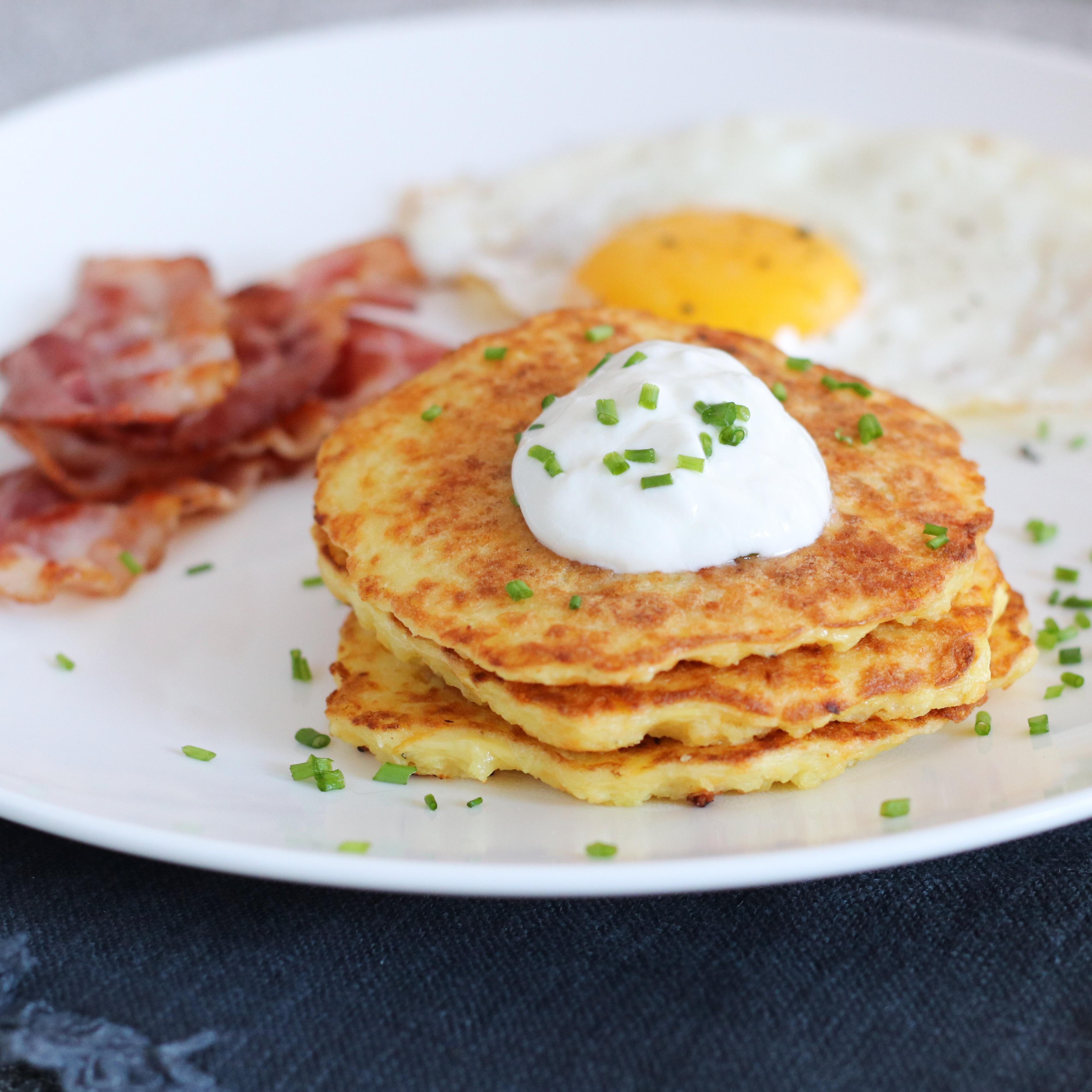 Aardappel pancakes