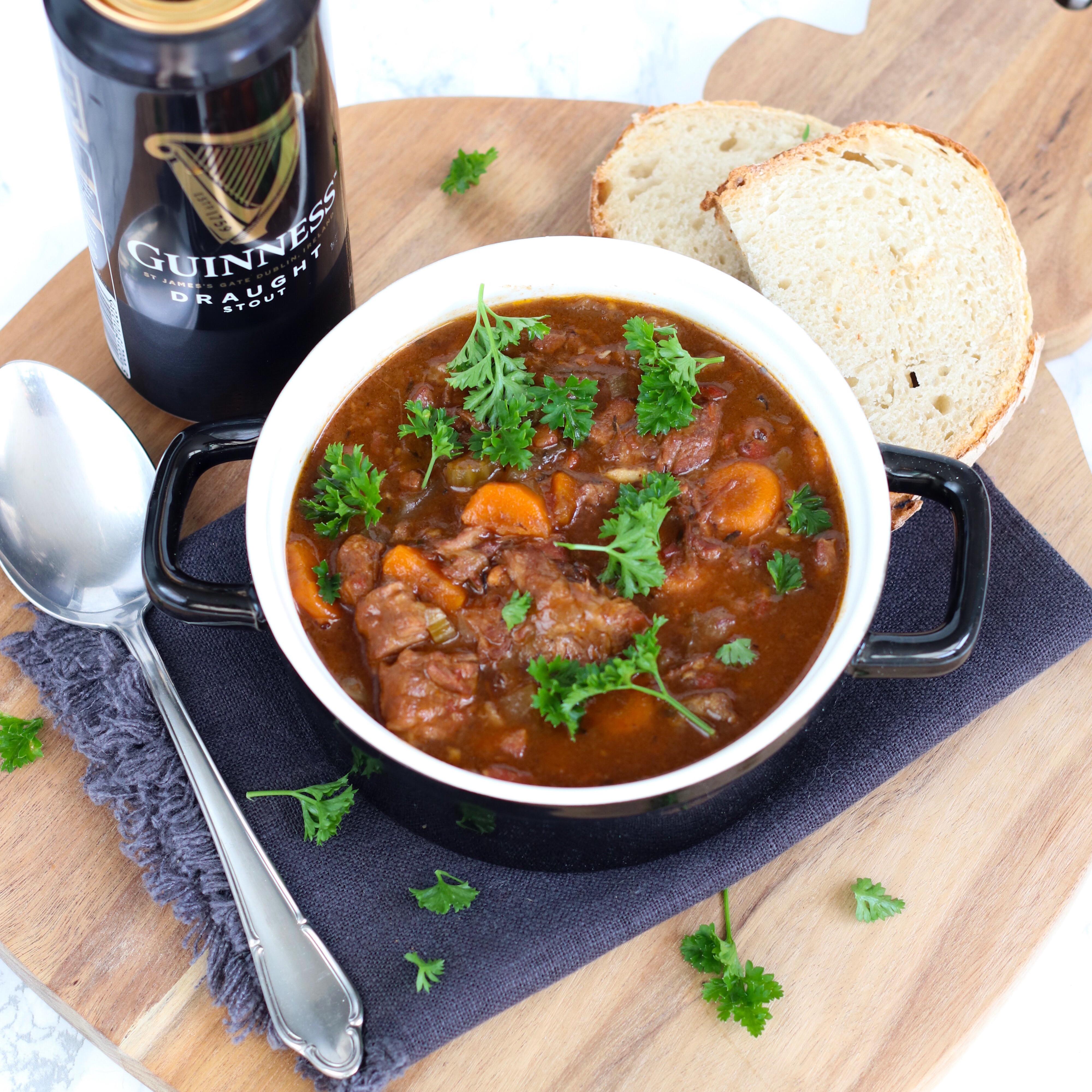 Iers stoofvlees met Guinness