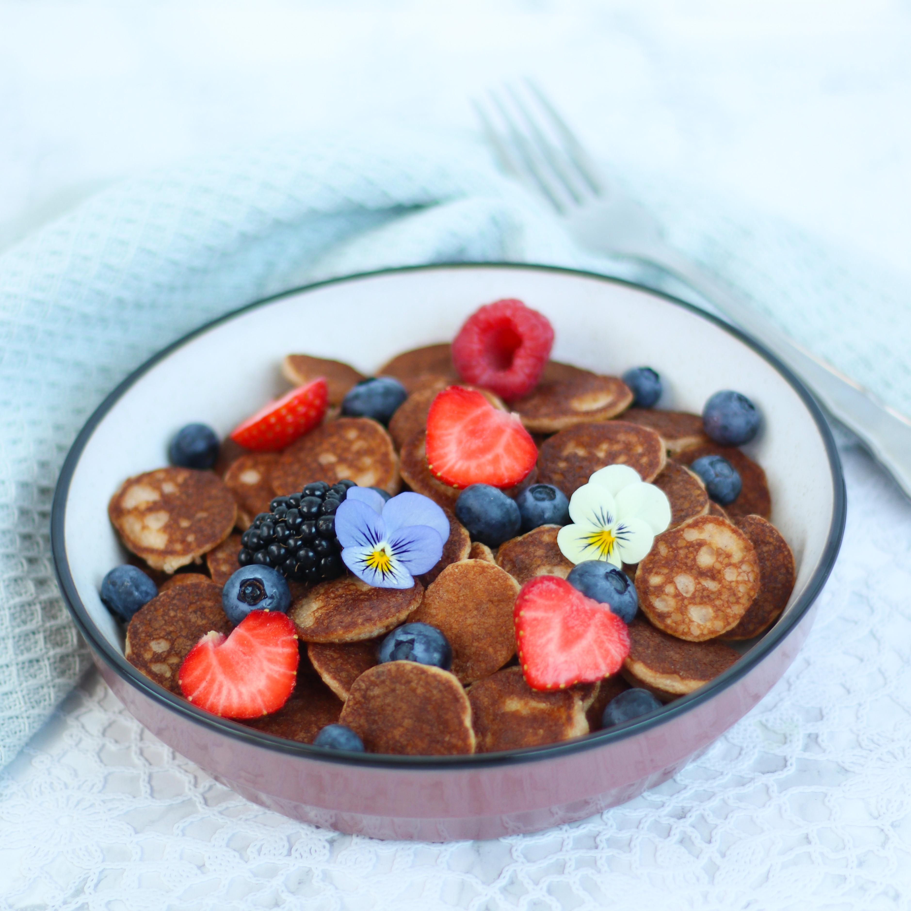 Koolhydraatarme mini pancakes